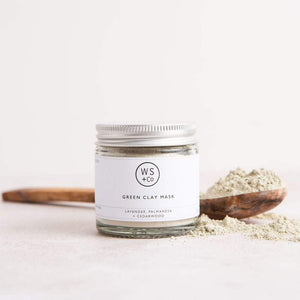 Wild Sage & Co All Products Green Clay Face Mask