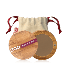 Load image into Gallery viewer, Zao All Products Ash Blonde Organic Refillable Eyebrow Powder