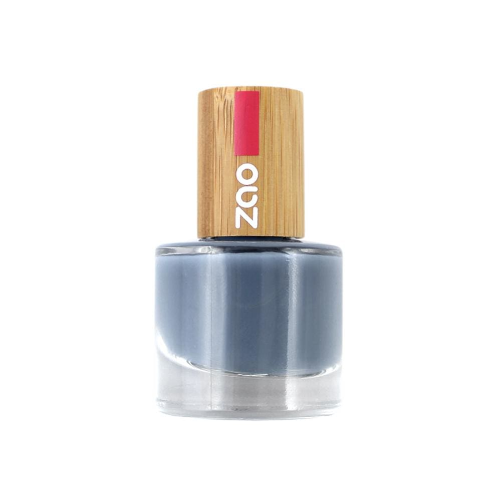 Zao All Products Blue Grey '10 Free' Nail Varnish