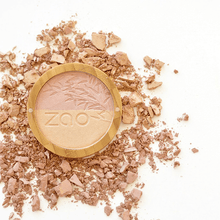 Load image into Gallery viewer, Zao All Products Organic Duo Shine Up/Highlighter Powder