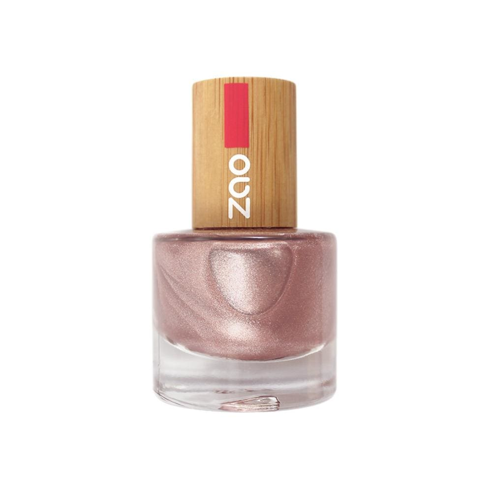 Zao All Products Pink Champagne '10 Free' Nail Varnish