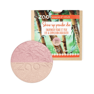 Zao All Products Refill Organic Duo Shine Up/Highlighter Powder