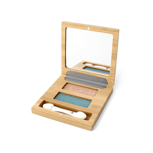 Zao All Products Refillable Eyeshadow Duo Palette