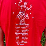 Vikings Shirt Red - Gold Medals