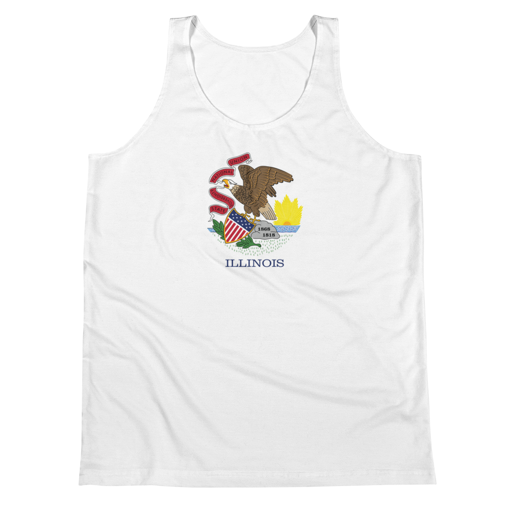 Illinois Flag Tank Top