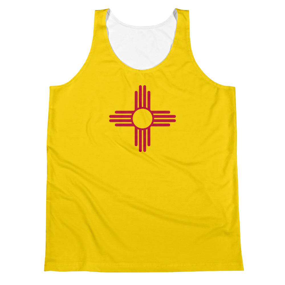 New Mexico Flag Tank Top