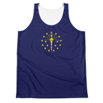Indiana Flag Tank Top
