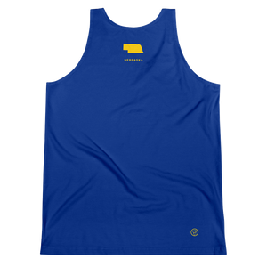 Nebraska Flag Tank Top