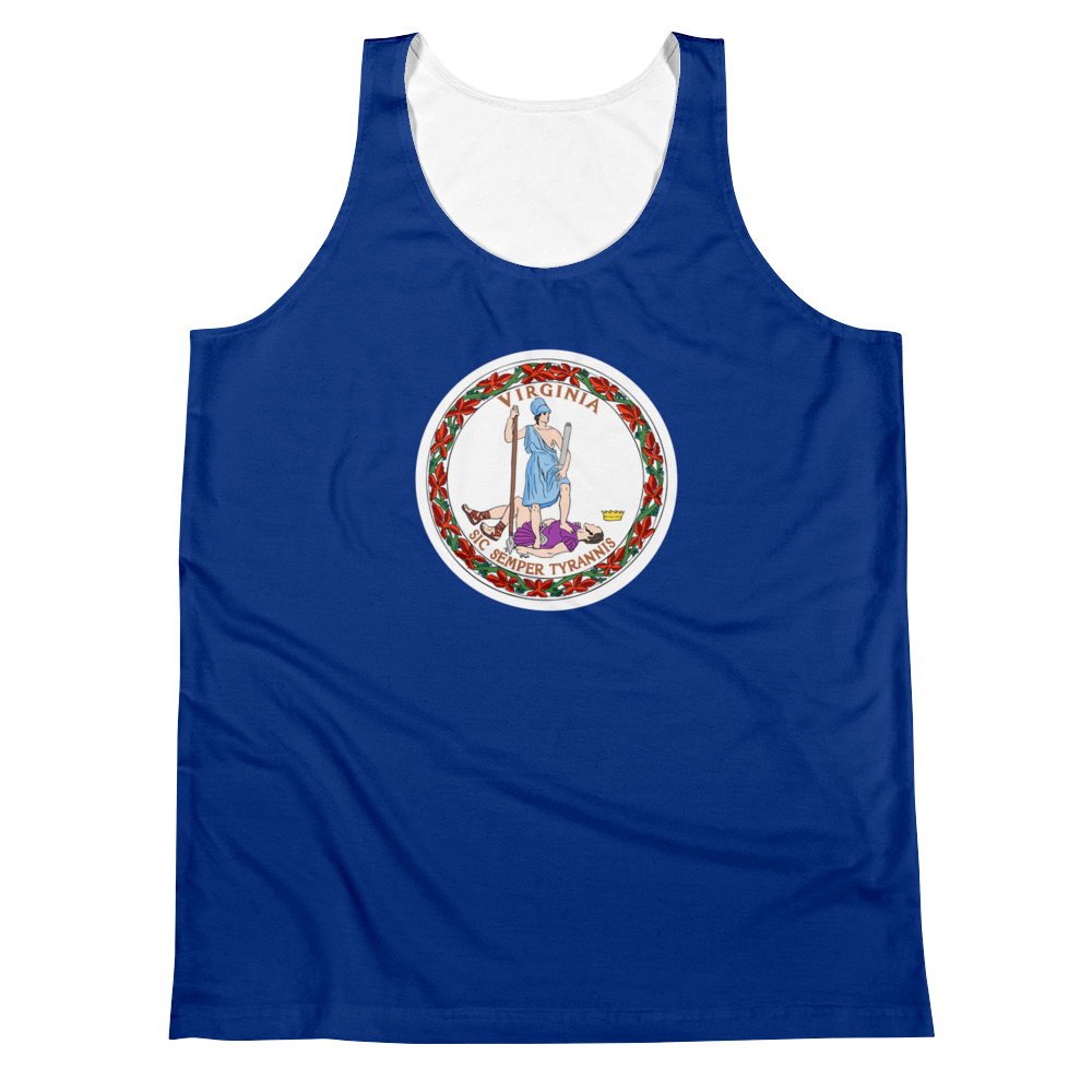 Virginia Flag Tank Top