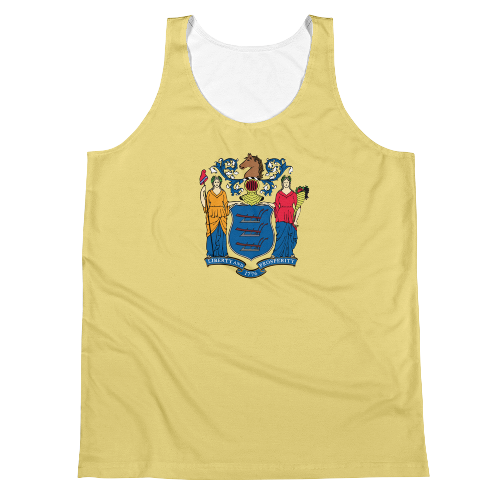 New Jersey Flag Tank Top