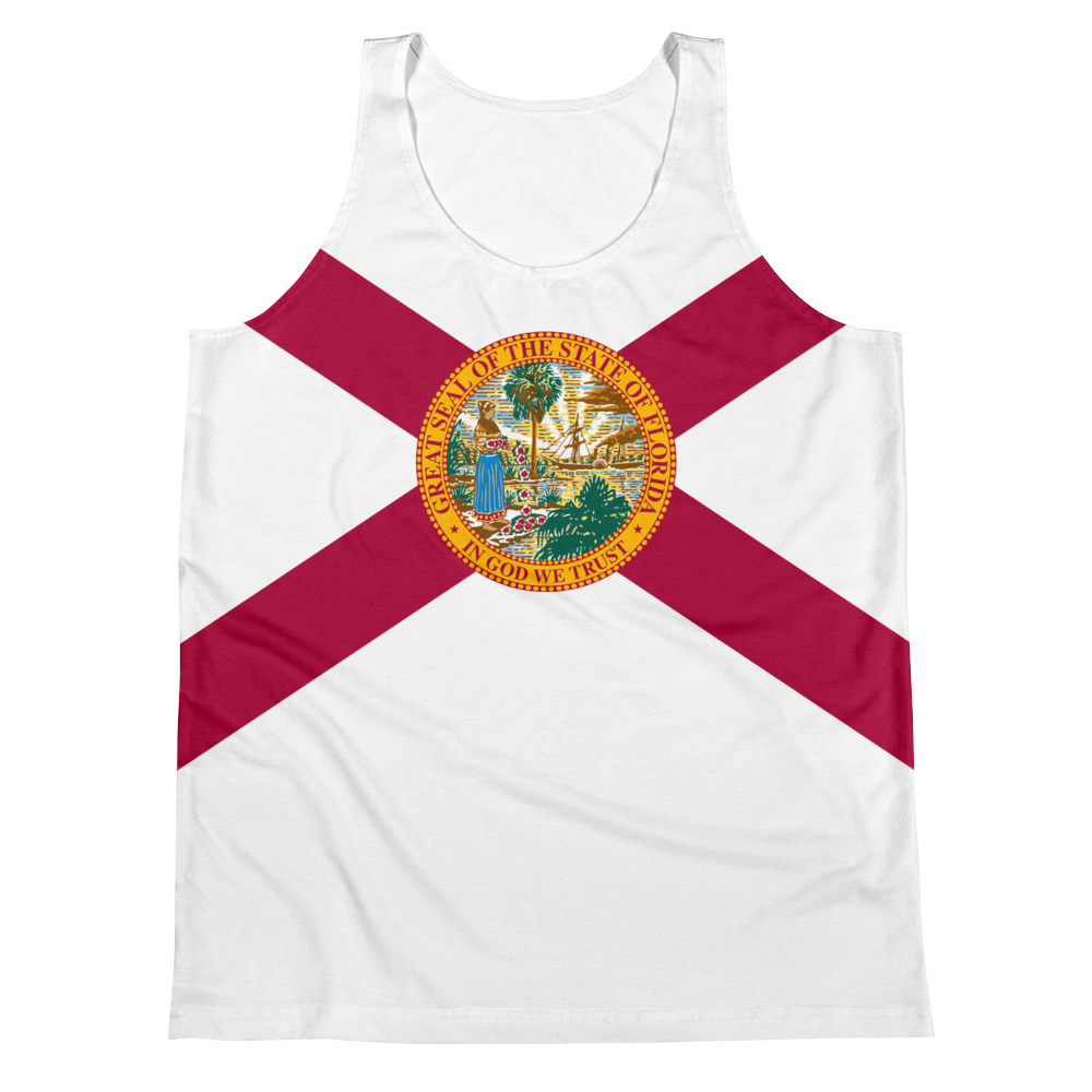 Florida Flag Tank Top