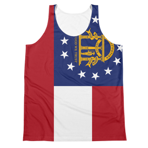 Georgia Flag Tank Top