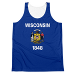 Wisconsin Flag Tank Top