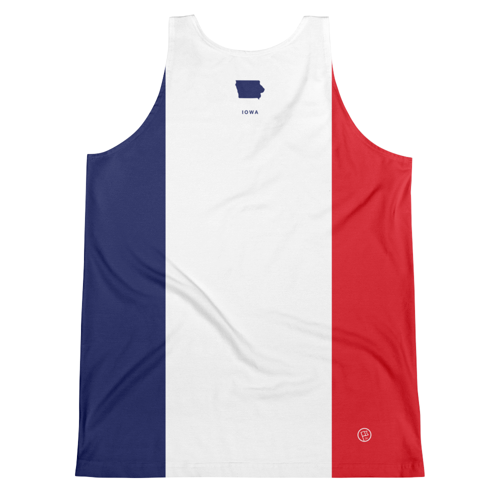 Iowa Flag Tank Top
