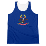 North Dakota Flag Tank Top