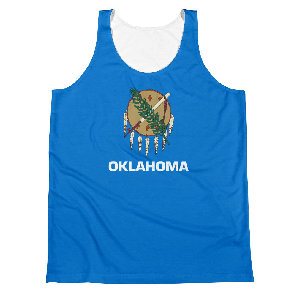 Oklahoma Flag Tank Top