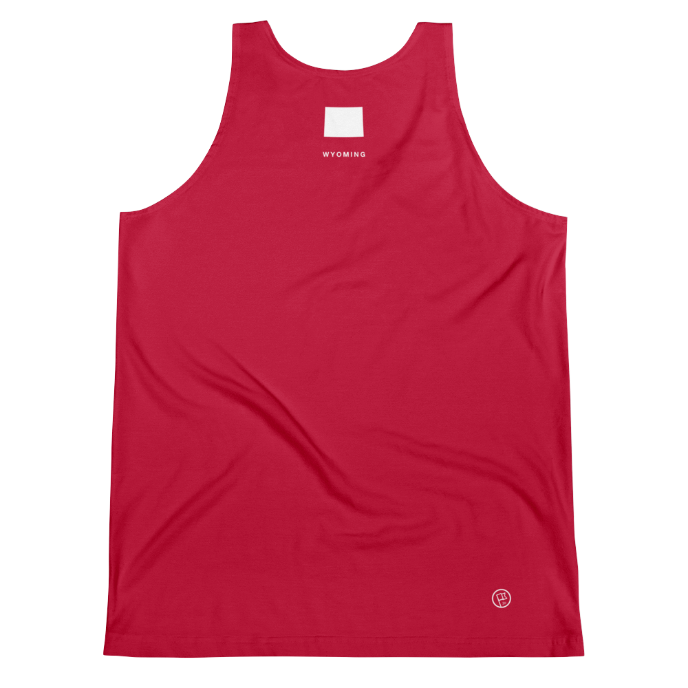 Wyoming Flag Tank Top