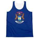 Michigan Flag Tank Top