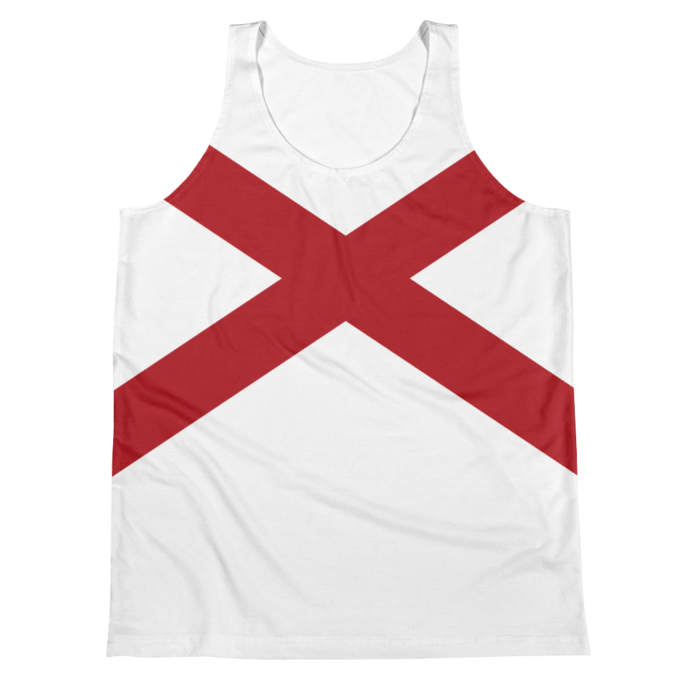 Alabama Flag Tank Top