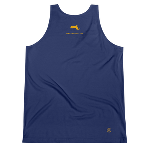 Massachusetts Flag Tank Top