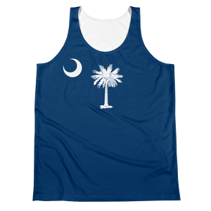 South Carolina Flag Tank Top