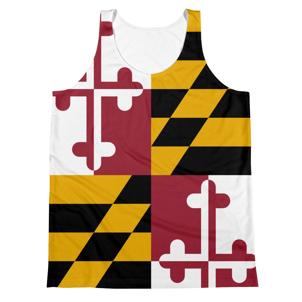 Maryland Flag Tank Top
