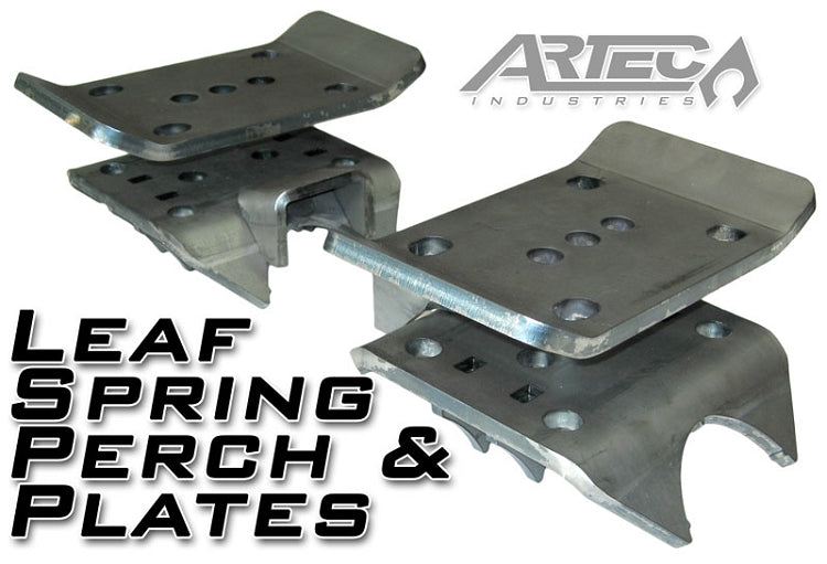 Leaf Spring Perch And Plates Pair Artec Industries