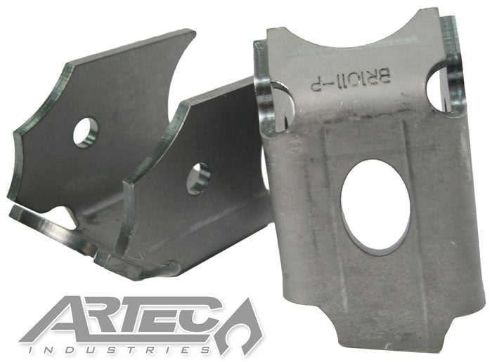 Lower Link Axle Brackets Pair 0 Deg 3.5 Axle Diameter Inch Artec Industries