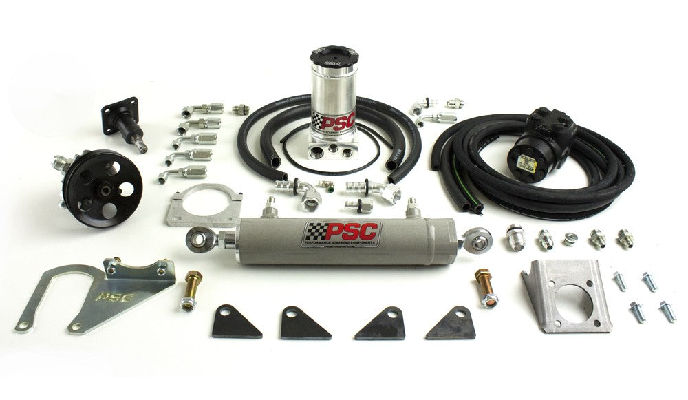 Full Hydraulic Steering Kit, 1997-2006 Jeep LJ/TJ (40-44 Inch Tire Size) PSC Performance Steering Components