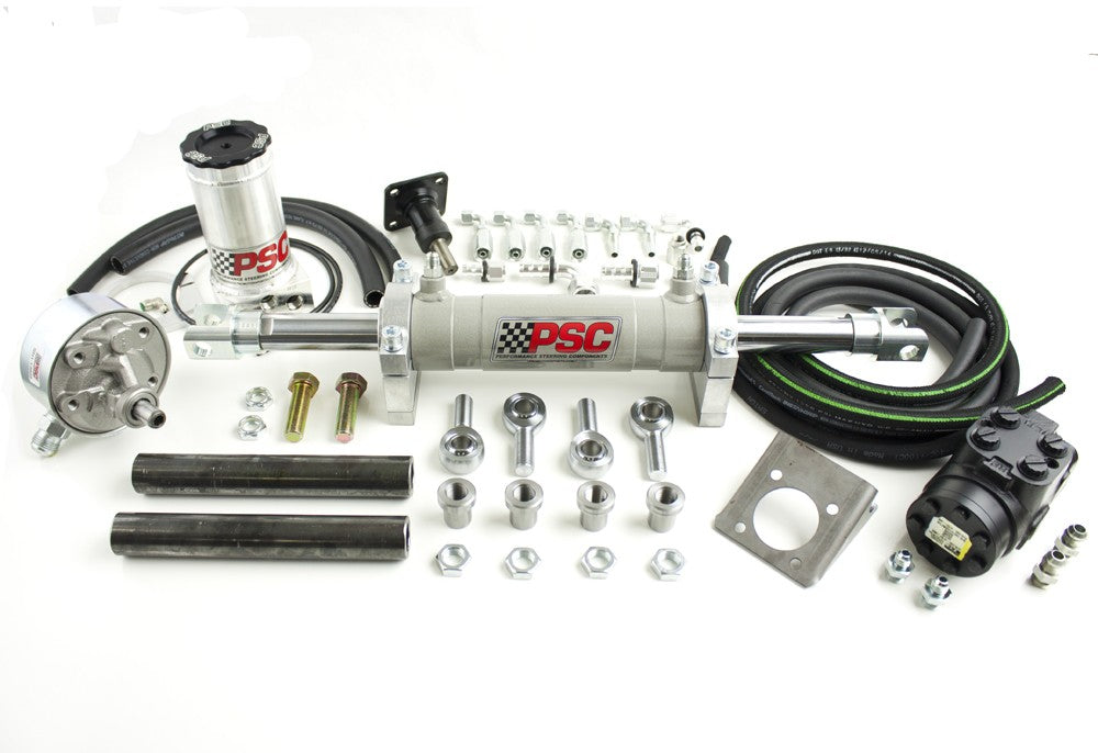 Full Hydraulic Steering Kit, P Pump (40 Inch and Larger Tire Size) PSC Performance Steering Components
