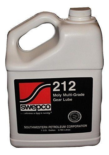 SWEPCO 212 Moly 80W140 Gear Oil 1 GAL PSC Performance Steering Components