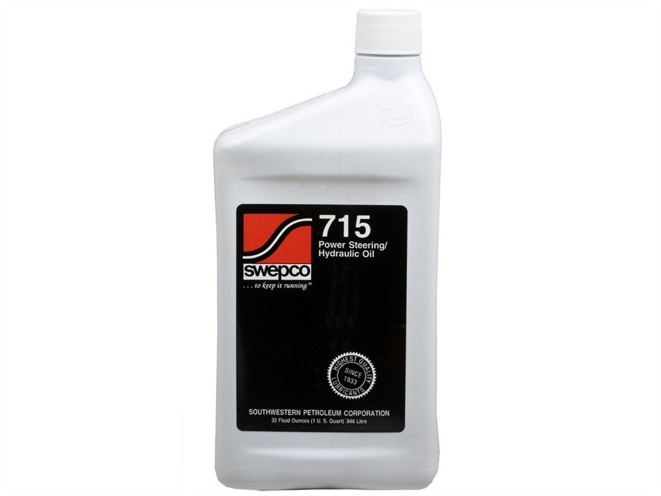 SWEPCO 715 Power Steering Fluid 1 QT PSC Performance Steering Components