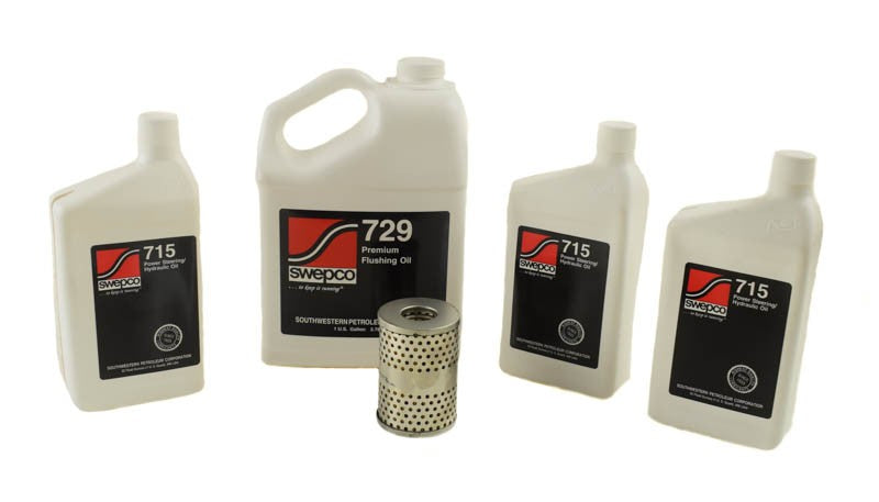 Premium Fluid Change Over Kit PSC Performance Steering Components