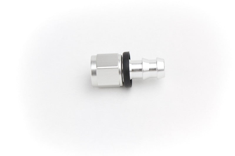 Fitting, #8 JIC Straight Low Pressure Push Lock PSC Performance Steering Components