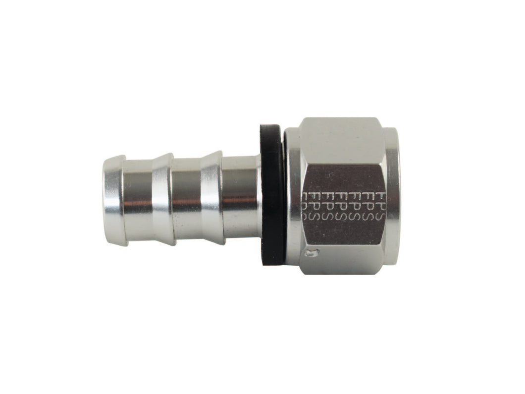 Fitting, #12 JIC Straight Low Pressure Push Lock PSC Performance Steering Components
