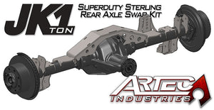 JK 1 Ton Superduty Rear Sterling Axle Swap Kit Artec Industries