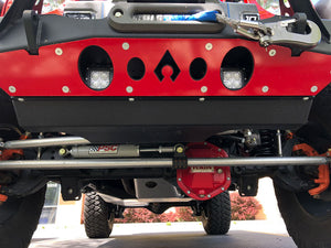 JK Nighthawk Front Bumper Swaybar Disconnect Skid Artec Industries