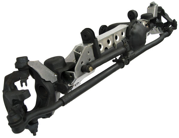 JK Front Axle Armor Kit Dana 30 Raised Tracbar Artec Industries