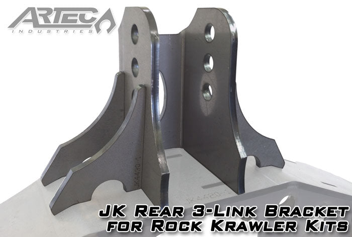 JK Rear 3-Link Bracket For Rock Krawler Kits Artec Industries