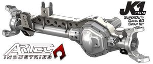 JK 1 Ton Superduty 05 Plus Front Dana 60 Swap Kit W/Adjustable Truss Upper Link Mount Single Artec Industries