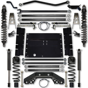 Rock Krawler LJ 3.5 Inch X Factor Long Arm Stg 1 Lift Kit w/ Coilover Shocks 04-06 Wrangler Unlimited
