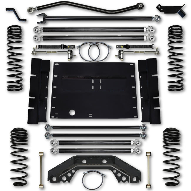 Rock Krawler LJ 4.5 Inch X Factor Long Arm Lift Kit 04-06 Wrangler Unlimited