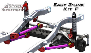 Easy 3 Link Kit F For Artec Trusses No Tubing Outside Frame Chevy/Ford 78-79 Front Driver/Rear Passenger Artec Industries