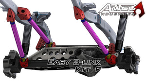 Easy 3 Link Kit F For Artec Trusses No Tubing Outside Frame Ford 85-91 Front Passenger/Rear Driver Artec Industries