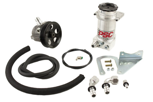 Power Steering Pump and Remote Reservoir Kit, 1990-94 Jeep 2.5L/4.0L PSC Performance Steering Components