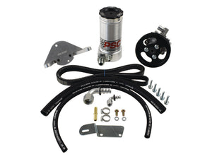 Power Steering Pump and Remote Reservoir Kit, 2012-18 Jeep JK 3.6L Pentastar PSC Performance Steering Components