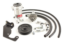 Load image into Gallery viewer, Power Steering Pump and Remote Reservoir Kit, 2007-18 Jeep JK with HEMI Engine Conversion (7 Rib Pulley) PSC Performance Steering Components