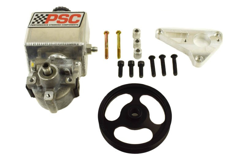 Power Steering Pump and Remote Reservoir Kit, 2007-18 Jeep JK with LS3 Engine Conversion PSC Performance Steering Components
