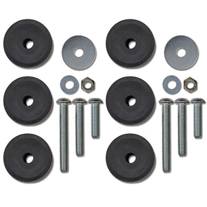 Rock Krawler 1-3 Inch Bump Stop Kit (JK Fornt, TJ/LJ Front & Rear)