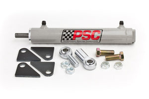 Single Ended Steering Cylinder Kit, 1.5 Inch Bore X 8.0 Inch Stroke X 0.6250 Inch Rod PSC Performance Steering Components